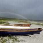 Rainbow on Corran Sands